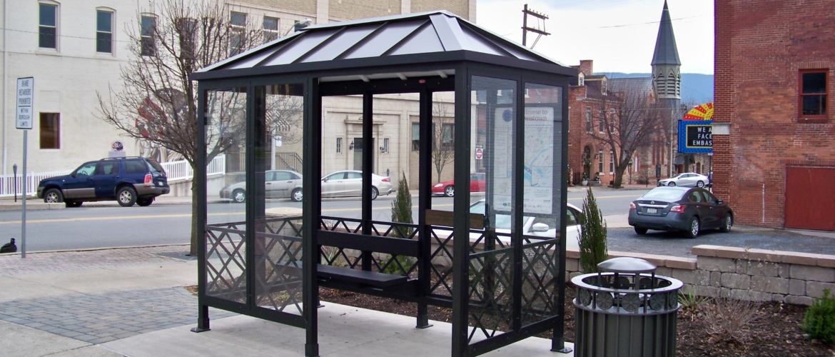 Lewistown Bus Shelter-12-2018
